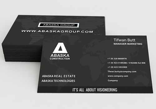 Abaska Technologies Visiting Card