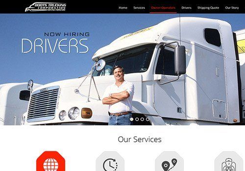 Boots Trucking Corporation