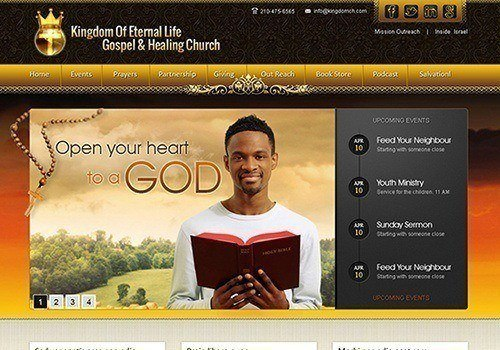 Kingdom Of Eternal Life Gospel & Healing Church